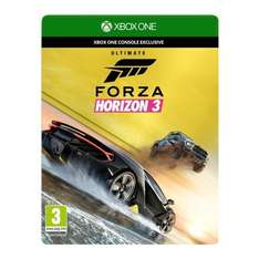 Forza Horizon 3 Ultimate Edition £49.99 @ Amazon