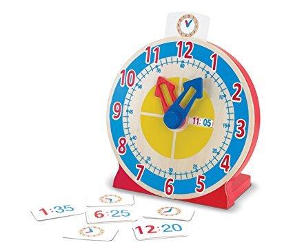 Melissa & Doug Turn & Tell Wooden Clock £6.79 @ amazon (prime)