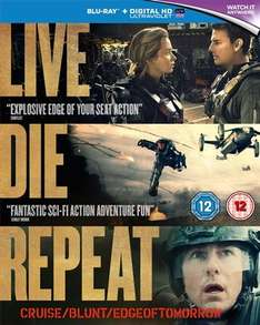 Live Die Repeat /Edge of Tomorrow Blu Ray - £3 CEX (INSTORE)