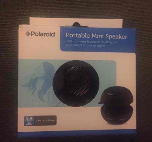 Polaroid mini portable speaker 99p @ asda halesowen