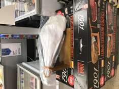 Jamon Serrano Bodega 5.5-6.5KG ham leg with stand £14.99 in store at The Food Warehouse (Iceland)