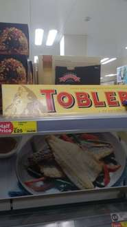 4.5kg toblerone reduced to £25 in iceland sheldon