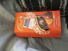 Lindt Lindor Orange Milk Chocolate Truffles found for 50p a box at Boots Lincoln St Marks Store (normally about £3)