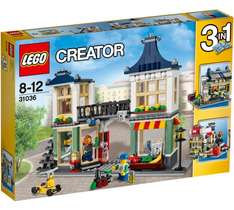 LEGO Creator Toy and Grocery Shop, 31036, £24.99 at Argos, retired set. + free lego reindeer 30474