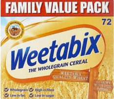 72 Weetabix  for £3.99 @ Iceland