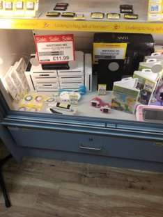 Wii Console plus Wires & Controller £11.99 @ Cashconverters - Wigan (pre-owned)