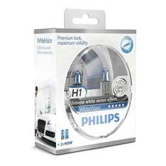 Philips White Vision Xenon Effect - H1 Twin Pack (free set of 501 Bulbs Included) - £13.49 euro car parts