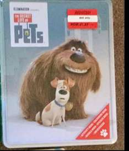 secrect life of pets creative tin £1.25 at Asda reduced from £20