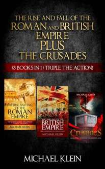Save £16.13 -   On This History Box Set - The Rise and Fall of The Roman and British Empire Plus The Crusades (3 in 1 Box Set ) Kindle Edition  - Free Download @ Amazon