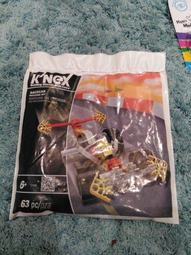 K'nex Racecar Building Set 63pc 59p instore @ Home Bargains