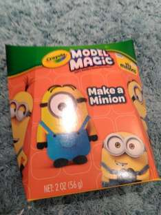 Crayola Model Magic Make A Minion Kit 99p instore @ Home Bargains