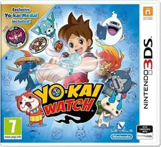 Yo-Kai Watch + Medal Special Edition (3DS) £22.40 Delivered @ Amazon lightning deals (Prime Early Access)