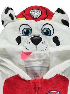 Paw patrol Marshall onesie ages 1 & 2 years £6 with free click and collect from asda 45% discount!