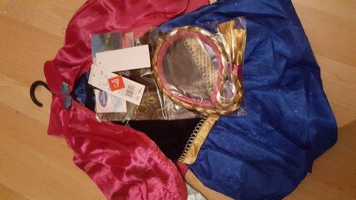 Frozen Anna costume + cape & hairband  HALF PRICE £7 instore @ Tesco