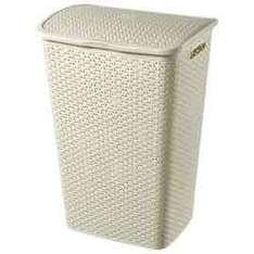 Curver My Style Cream 55L Laundry Hamper at Tesco - £8 (Free C&C)