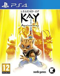 Legend of Kay Anniversary (PS4) @ Amazon £9.99 (Prime or add £1.99)