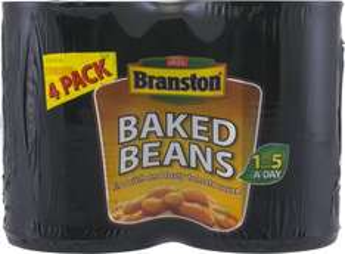 Branston Beans/Spaghetti 4pk  £1.25 @ Tesco from 4th Jan