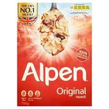 Half Price Alpen £1.39 / Alpen Oat Granola £1.49 @ Tesco from 4th Jan