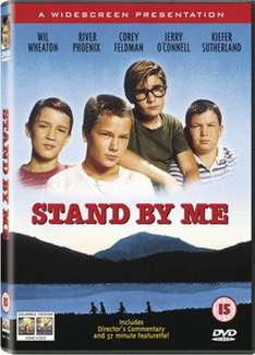 Stand by me DVD (pre-owned) £1.19 @ music magpie classic coming of age movie