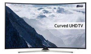 """Samsung 55"""" Curved LED HDR 4K Smart TV £649 @ Groupon"""