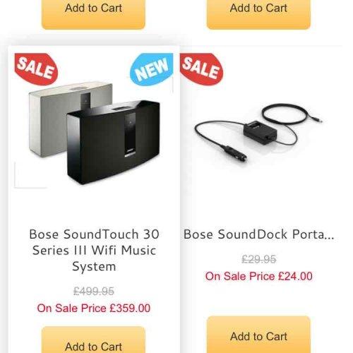 Bose SoundTouch 30 Series 3 £359 @ Home AV Direct