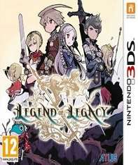 The Legend of Legacy (3DS) - Boomerang Rentals - £18.89