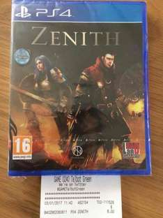 Zenith (PS4) £8 @ GAME (in-store)