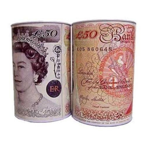 very large, jumbo size, money tin box, B&M in store - £1