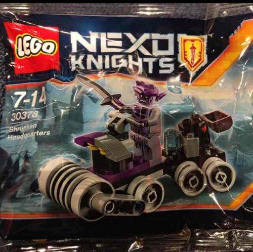 Lego - Free (with 2.99 minimum purchase) Lego 30378 shrunken headquarters with ANY Nexo purchase Instore £2.99 @ Lego Shop