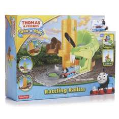 Thomas and Friends Take and Play Rattling Rails set £6.25 @ Wilko