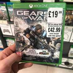 gears of war 4 Xbox one £19.99 in store hmv