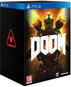 DOOM (PS4) Collector's Edition £35.00 (+£14.99 P&P) @ GAME (Fulfilled)
