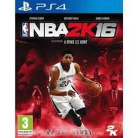 NBA 2K16 - PS4 - £11 @ Tesco Direct