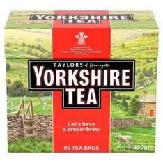 Taylors of Harrogate Yorkshire 80 teabags HALFPRICE - ONLY £1.17 at Waitrose