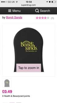 Bondi Sands Tanning Application Mit @Superdrug free delivery for card holders or free c&c 49p