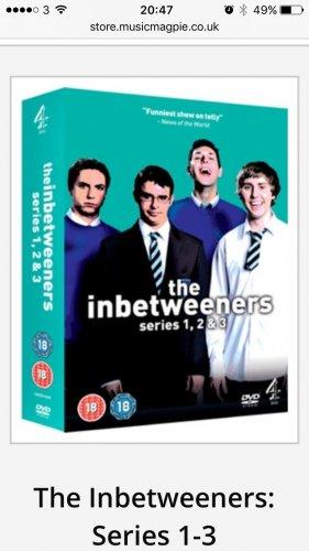 The Inbetweeners seasons 1-3 (used) £2.59 @ Music Magpie