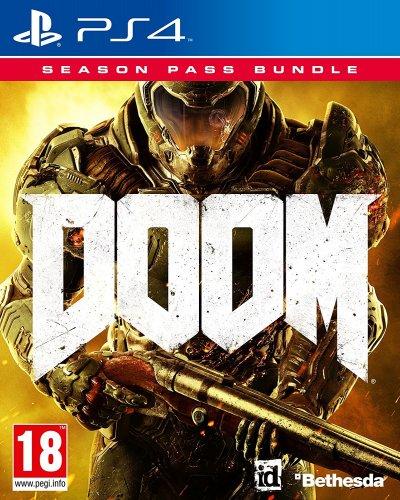 Doom Game + Season Pass Bundle (PS4) - Amazon £19.99 (£21.98 non-Prime)