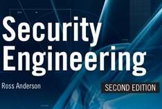 FREE 1000-page Information Security eBook: Security Engineering Second Edition