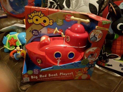 Twirlywoos big red boat playset £12.50 @ Tesco