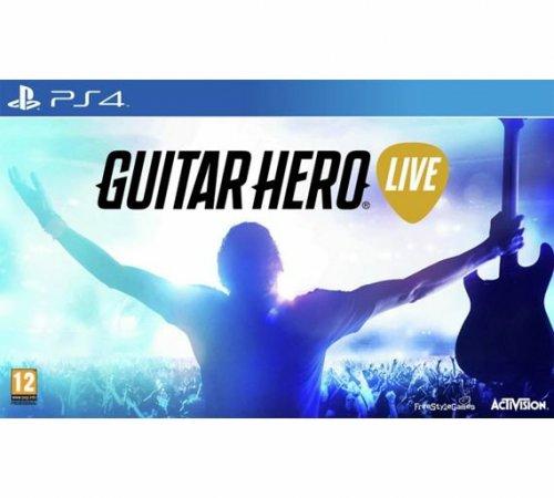 Guitar Hero Live PS4 XBOX ONE £26.99 argos