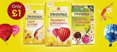 Twinings Fruit, Herbal, & Green Teas for £1.00 (+£3.95 Delivery per order) @ Twinings