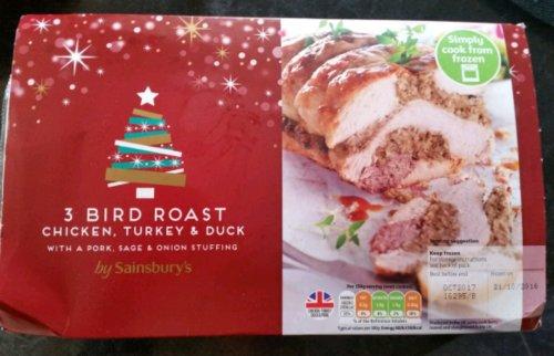 3 Bird Roast 1.4kg  £1.00 in Sainsburys