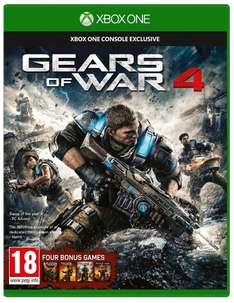 [Xbox One] Gears of War 4 - £19.99 - Amazon (£20.38 Delivered Non Prime with 39p Sim Card)