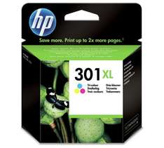 HP 301XL Tri-color and Black Ink Cartridge at Argos  - £34.48