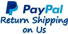 Up to 12 free shipping returns with PayPal