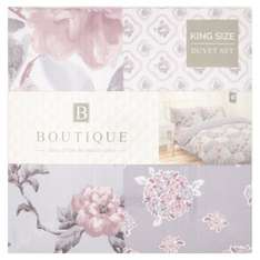 Floral Patchwork 100% Cotton King Bed Set with pillow case  £18 Morrisons online /Store