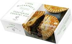Linda McCartney's Vegetarian Country Pies (2 = 380g) ONLY £1.50 @ Iceland