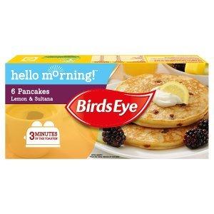 Bird's Eye Pancakes Lemon & Sultana (6 = 240g) was £1.79 now £1.00 @ Iceland