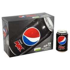 Pepsi Max 12 x 330ml cans £2.25 at Ocado - also Pepsi and Diet Pepsi included