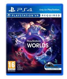 PlayStation VR Worlds Amazon Warehouse Deals - £18.79 (Prime or add £1.99)